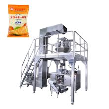 Máquina de envasado prefabricada de migas de pan