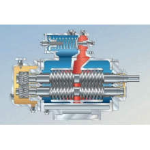 Double screw pump 1400series