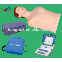 VENTE CHAUDE Avancé en RCR et mannequin d'entraînement AED, CPR AED