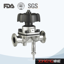 Stainless Steel Sanitary FDA Certified Diaphragm Valve with Drain (JN-DV1006)