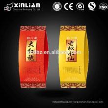 Боковая упаковка для чайных пакетиков