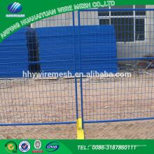 Popular Promotional Um niedrigen Preis und hohe Qualität Metallrahmen Material temporäre Zaun zu produzieren