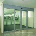 portas deslizantes de vidro do hotel portas automáticas de deslizamento design europeu portas deslizantes automáticas do operador de porta DSL-200L