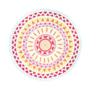 Super Cheap Printed  Large Round Beach Towel
