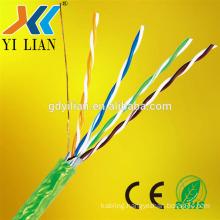 Promotional EIA TIA 568A 568B 4P BC CCA Cat5e Cat6 Cat6A Cat7 LAN Ethernet Network Cable Cat5E Patch Cord UTP AMP Cat6 Cable