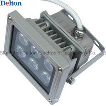 6 светодиодных Серый гибкий 12W светодиодный прожектор (DT-FGD-003)