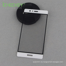 ¡Fábrica de Shenzhen en shock! Para el protector de pantalla de cristal templado de cubierta completa de Huawei P9 2.5D