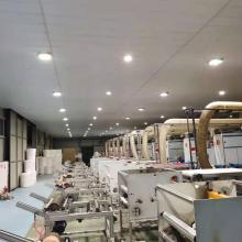 Spunbond nonwovens fabric making machine product