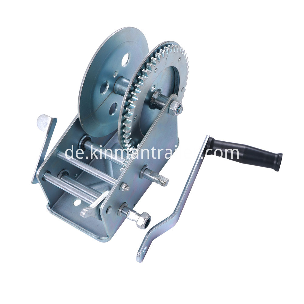 Hand Winch Trailer Ball Mount