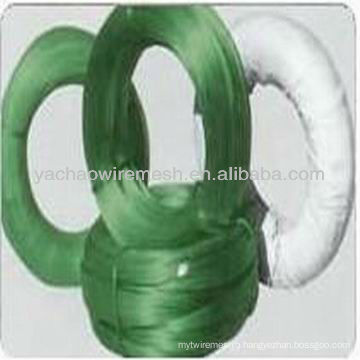 Various Colors PVC Coated Wire /plastic coated tie wire