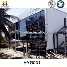 Prefabricated steel structure hotel building projects