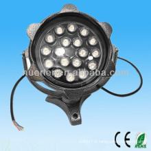 Haute qualité, bon prix Éclairage paysager avec CE RoHS 85-265v rond solaire led flood lights outdoor