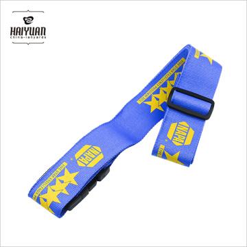 Cinturón de equipaje de nylon con pantalla de seda de color sólido Alta calidad de liberación rápida