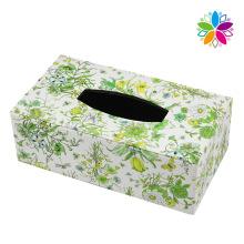 Creative Rectangle Leather Tissue Box (ZJH070)