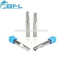 Herramienta de fresado CNC de BFL Herramienta de fresado de fresa de flauta única para plástico
