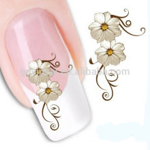 Various patterms movable waterproof nail tattoo stick for girl