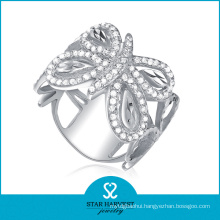 High Quality Silver Engagement Fashion Ring (SH-R0044)