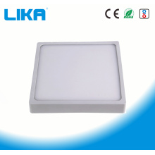 8W Integrated Rimless Square Surface Mounted Panel Light