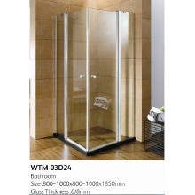 Раскладная душевая дверь высокого качества душевая wtm в 03D24
