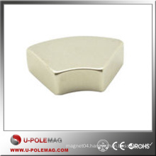 Rare Earth High Performance Magnet Axial Neodymium Arc Magnet China
