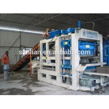 Kleine Fertigungsblock / Ziegelmaschine Produktion Verkauf in Äthiopien