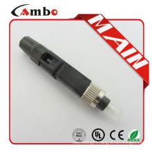quick SC/APC Optical Fiber Fast Connectors FTTH drop cable SC Optic Fiber Fast Connector