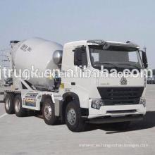 Sinotruk HOWO camión mezclador usado / HOWO camión mezclador / HOWO camión mezclador usado / HOWO camión hormigonera en stock