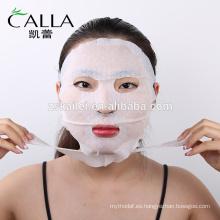 Blanqueamiento reafirmante máscara facial de belleza no tejida