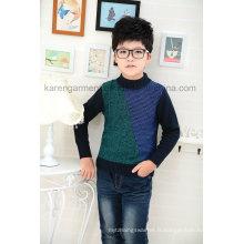 Karen Boys Design Motif à manches longues en tricot Pull