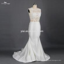 RSW791 Sexy sehen durch Korsett-Spitze-Mieder-Hochzeits-Kleider Vestidos De Novia 2015 Brautkleider für A Preise