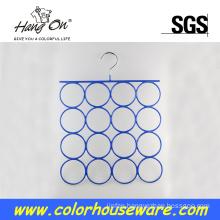 Ring metal scarf hanger
