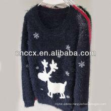 13STC5348 fawn kids christmas sweater