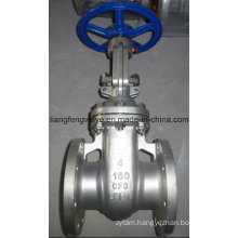 Carbon Steel API600 RF Flange Stainless Steel Gate Valve