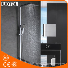 Single Lever Squre Chrome Finished Thermostatic Shower Mixer