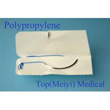 Sutura quirúrgica con aguja - Sutura de monofilamento de polipropileno