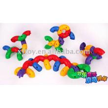 Bloques de tubos de colores juguetes