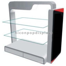 Quality Assured Floorstanding Iron And Glass Souvenir Gifts Store Sports Race Medal Display Stand