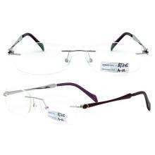 New Modelstitanium Rimless Eyeglasses (BJ12-305)