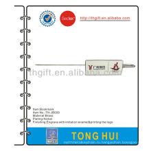 Юридическая ассоциация металлическая закладка с эмалью