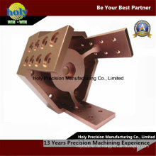 OEM-CNC-Aluminium-Teile mit Farbe eloxiert CNC-Teile