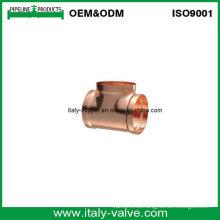 Tubo de cobre forjado Igual Tee (AV8051)