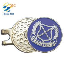 Custom Logo Printed Golf Hat Clip Supplier