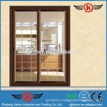 JK-AW9102 aluminum used sliding glass door for sale
