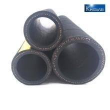 Mangueira de borracha de óleo de superfície áspera preta de borracha neoprene resistente a óleo
