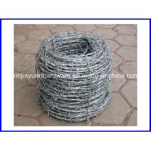 High Tensile Galvanized /PVC Coated Barbed Wire with Handle