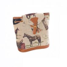 Классическая женская напольная спортивная сумка