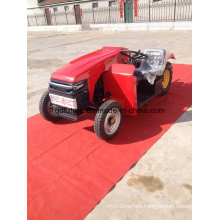 Low Appearance and Side Control Cheap Lawn Tractor
