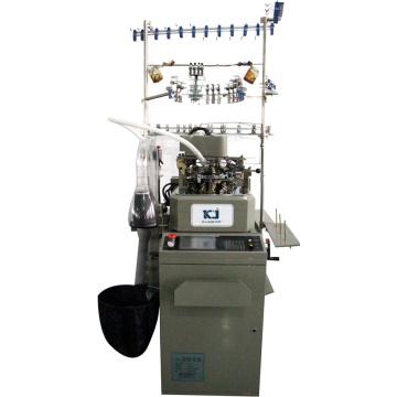 Máquina de confecção de malhas simples inteiramente computarizada da peúga