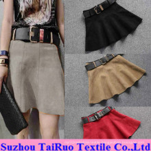 Micro Suede for Fashion Lady Dress Fabric
