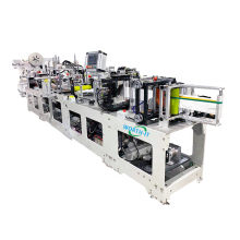 Foldable Face Mask Making Machine High Quality Donggua Automatic Folding Automated 4ply 1860 3d 2020 Ce Stainless Steel Provided
